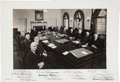 Autographs:U.S. Presidents, Harry S. Truman and Cabinet Signed Photograph....