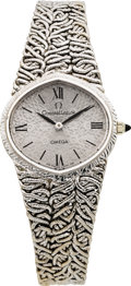Estate Jewelry:Watches, Omega 'Constellation' Lady's White Gold Wristwatch. ...
