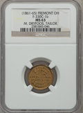 Civil War Merchants, (1861-65) M. Dryfoos, Tailor, Fremont OH, MS63 NGC. Fuld-OH330C-1b....