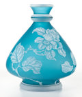 Art Glass:Other , A STEVENS AND WILLIAMS CAMEO GLASS VASE . Stevens and Williams,Stourbridge, England, circa 1900. Marks: STEVENS &WILLIAM...