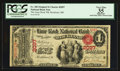 National Bank Notes:Maine, Rockland, ME - $1 Original Fr. 382 The Lime Rock NB Ch. # 2097. ...