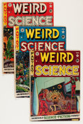 Golden Age (1938-1955):Science Fiction, Weird Science Group (EC, 1951-53).... (Total: 7 Comic Books)