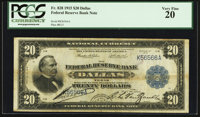 Fr. 828 $20 1915 Federal Reserve Bank Note PCGS Very Fine 20