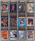 Basketball Cards:Lots, 1989-2006 Michael Jordan PSA Gem MT 10 Collection (12). ...