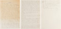 Autographs:Letters, 1936 Ty Cobb Handwritten Signed Letter from the Hayward BinneyArchive....
