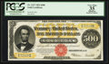 Large Size:Gold Certificates, Fr. 1217 $500 1922 Gold Certificate PCGS Apparent Very Fine 35.....