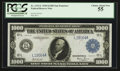 Large Size:Federal Reserve Notes, Fr. 1133-L $1,000 1918 Federal Reserve Note PCGS Choice About New 55.. ...