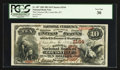 National Bank Notes:Kentucky, Louisville, KY - $10 1882 Brown Back Fr. 487 The Citizens NB Ch. #2164. ...
