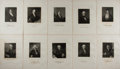 Books:Prints & Leaves, Lot of 10 Steel Engravings of Distinguished Americans From theNational Portrait Gallery. From The National PortraitGalle...
