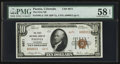 National Bank Notes:Colorado, Paonia, CO - $10 1929 Ty. 2 The First NB Ch. # 6671. ...