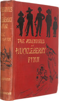 Books:Literature Pre-1900, Mark Twain. The Adventures of Huckleberry Finn. London:1884. The true first edition.. ...