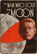 Books:Science Fiction & Fantasy, Robert A. Heinlein. The Man Who Sold the Moon. Chicago:[1950]. First edition. Inscribed by Heinlein to friend and...