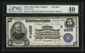 National Bank Notes:West Virginia, Terra Alta, WV - $5 1902 Plain Back Fr. 598 The First NB Ch. #(S)6999. ...