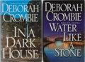 Books:Mystery & Detective Fiction, Deborah Crombie. Group of Two Books, One Inscribed. Morrow,2004-2007. Various printings. Water Like a Stone is signeda... (Total: 2 Items)