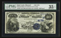 National Bank Notes:Missouri, Saint Louis, MO - $10 1882 Date Back Fr. 539 The NB of Commerce Ch.# (M)4178. ...