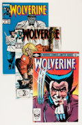 Modern Age (1980-Present):Superhero, Wolverine Group (Marvel, 1982-91) Condition: Average VG/FN....(Total: 91 Comic Books)