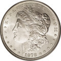 1878-CC $1 MS66 PCGS. The vast majority of extant 1878-CC Morgan dollars are Mint State. Another feature that most survi...