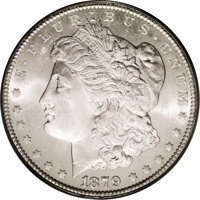 1879-CC $1 MS64 PCGS. The 1879-CC does not appear to have been released into circulation in significant numbers during t...