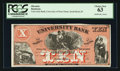 Obsoletes By State:Indiana, South Bend, IN- University Bank $10 Schingoethe IN-550-10 Proof. ...