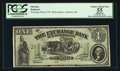 Obsoletes By State:Kansas, Atchison, KS- The Exchange Bank of W. Hetherington $1 Whitfield 32 Proof. ...