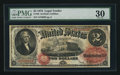 Large Size:Legal Tender Notes, Fr. 49 $2 1878 Legal Tender PMG Very Fine 30.. ...