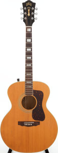 Musical Instruments:Acoustic Guitars, 1981 Guild F-40 MNT Natural Acoustic Guitar, Serial # FC100345....