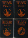 Books:Children's Books, [Children's Illustrated]. The Elson Readers. Group of FourBooks. Scott, Foresman, 1927-1928. Ex-library with ty... (Total: 4Items)