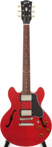 Musical Instruments:Electric Guitars, 2004 Gibson ES-336 Cherry Semi-Hollow Body Electric Guitar, Serial # CS43108....