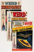 Golden Age (1938-1955):Science Fiction, Weird Science-Fantasy #26-28 Group (EC, 1954-55).... (Total: 3Comic Books)