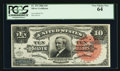 Large Size:Silver Certificates, Fr. 293 $10 1886 Silver Certificate PCGS Very Choice New 64.. ...