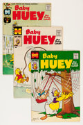 Silver Age (1956-1969):Humor, Baby Huey, the Baby Giant File Copy Long Box Group (Harvey, 1958-80) Condition: Average VF/NM....