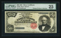 Large Size:Silver Certificates, Fr. 332 $50 1891 Silver Certificate PMG Very Fine 25.. ...