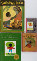 Books:Children's Books, Little Black Sambo. Group of Four Different Editions.Various publishers, 1919-1996. Good or better condition.... (Total:4 Items)