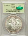 Morgan Dollars: , 1900-O $1 MS65 PCGS. CAC. PCGS Population (5819/933). NGC Census:(6559/1038). Mintage: 12,590,000. Numismedia Wsl. Price f...