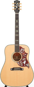 Musical Instruments:Acoustic Guitars, 2005 Gibson Hummingbird Natural Acoustic Guitar, Serial #03125007....