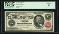 Large Size:Silver Certificates, Fr. 265 $5 1886 Silver Certificate PCGS Choice New 63.. ...