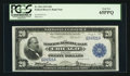 Large Size:Federal Reserve Bank Notes, Fr. 824 $20 1915 Federal Reserve Bank Note PCGS Gem New 65PPQ.. ...