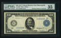 Large Size:Federal Reserve Notes, Fr. 1059 $50 1914 Federal Reserve Note PMG Choice Very Fine 35.. ...