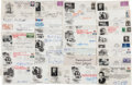 Autographs:Statesmen, [Watergate]. Collection of 35 First Day Covers Signed...