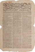 Miscellaneous:Newspaper, [Newspaper]. The Providence Gazette....