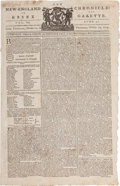 Miscellaneous:Newspaper, [Newspaper]. New England Chronicle and Essex Gazette....