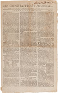 Miscellaneous:Newspaper, [Newspaper]. The Connecticut Journal....