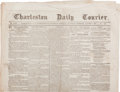 Miscellaneous:Newspaper, [Newspaper]. Charleston Daily Courier....