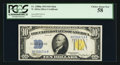 Small Size:World War II Emergency Notes, Fr. 2308 $10 1934 Mule North Africa Silver Certificate. PCGS Choice About New 58.. ...