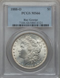 Morgan Dollars, 1888-O $1 MS66 PCGS....