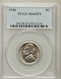 Jefferson Nickels: , 1946 5C MS65 Full Steps PCGS. PCGS Population (62/18). NGC Census:(6/0). Numismedia Wsl. Price for problem free NGC/PCGS ...