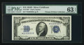 Small Size:Silver Certificates, Fr. 1705* $10 1934D Silver Certificate. PMG Choice Uncirculated 63 EPQ.. ...