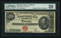 Large Size:Silver Certificates, Fr. 312 $20 1880 Silver Certificate PMG Very Fine 20.. ...