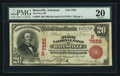 National Bank Notes:Arkansas, Batesville, AR - $20 1902 Red Seal Fr. 639 The First NB Ch. # (S)7556. ...