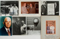 Autographs:Celebrities, Group of Seven Celebrity Photographs Inscribed to Ted Gunderson,Former Head of the FBI in Los Angeles. Various sizes. Some ...